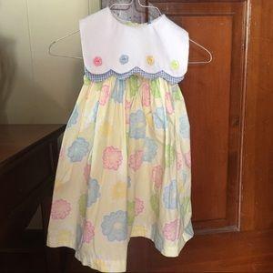 Baby crew collared dress